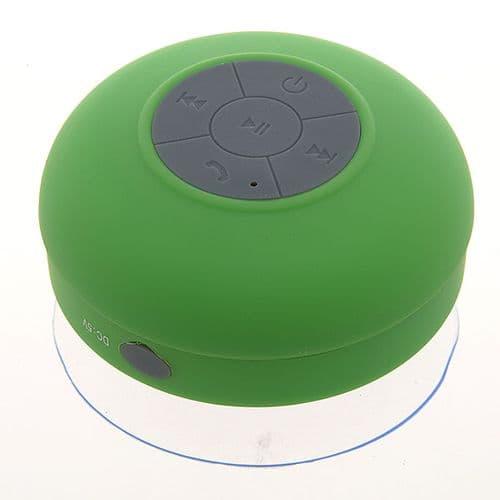 Enceinte Haut-parleur Bluetooth Etanche pour Douche Main-libres Smartphone _GR