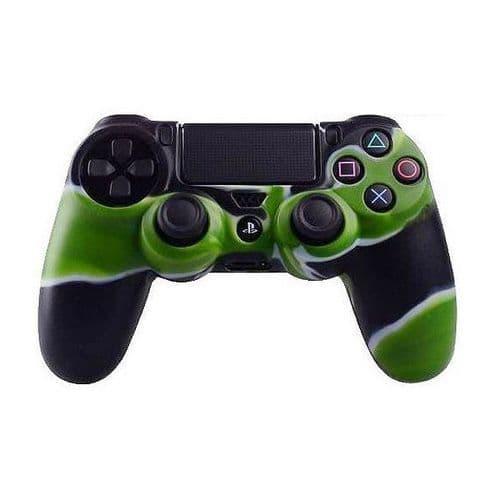 Etui Coque Protection Silicone pour Manette PS4 Console de Jeux GR