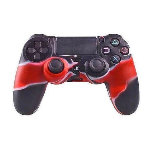 Etui Coque Protection Silicone pour Manette PS4 Console de Jeux RD