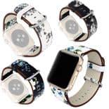 Floral fleurs Bracelet de montre pour Apple Watch Series 1 2 3 4 5 / 38mm 40mm
