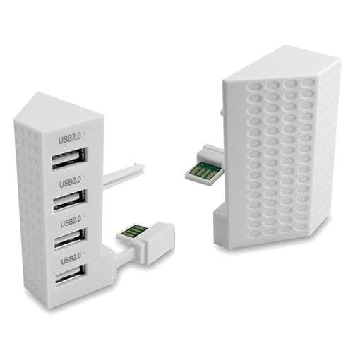 High Speed XBox One S Console Extension HUB USB Adaptateur 4 ports USB
