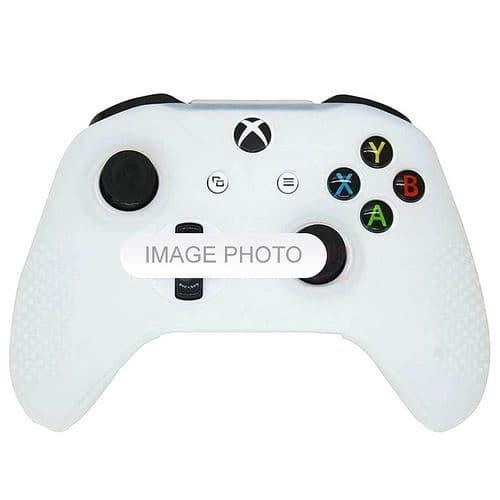 Housse Etui en Caoutchouc Silicone pour Manette Xbox One S Slim Joy-stick WH