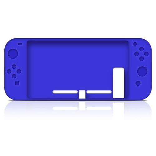 Housse Protection Caoutchouc Silicone Etui Console Nintendo Switch Manette BU