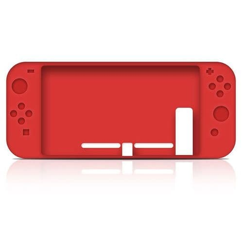 Housse Protection Caoutchouc Silicone Etui Console Nintendo Switch Manette RD