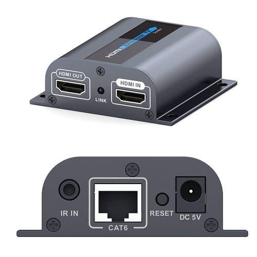 Kit Emetteur et Récepteur Convertisseur HDMI sur CAT6 IR 1080p 60m LKV372Pro