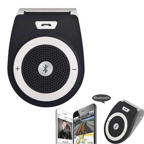 Kit Mains Libre Bluetooth sur Pare-soleil Auto Voiture pour Smartphone BK
