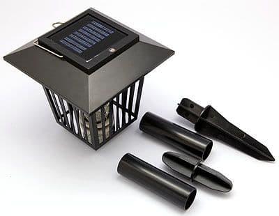 Lanterne Lampe Solaire et Anti Moustique Anti Nuisible
