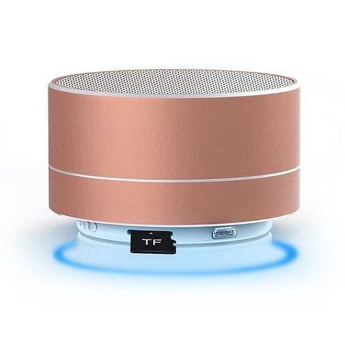 Mini Enceinte Bluetooth Sans fil Lecteur Carte TF Appel Mains libres GD