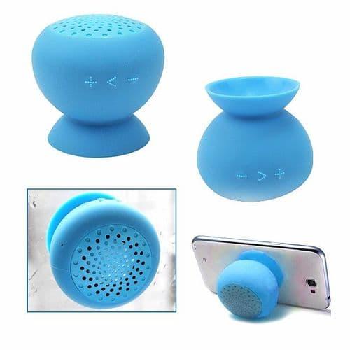 Mini Enceinte Bluetooth Sans fil Portable Étanche Douche Ventouse Support BU
