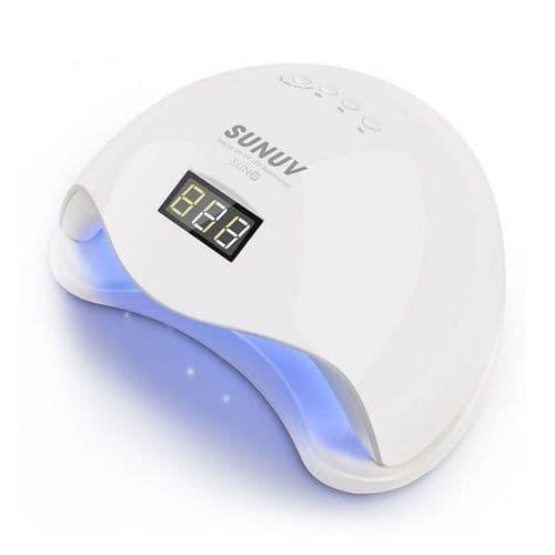 Mini Séchoir Sèche Gel Vernis Ongles Portatif USB Minuterie Lampe LED  48W UV