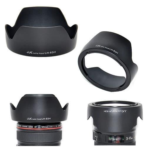 Parasoleil Pare-Soleil pour Canon EF 24-105mm f/4L IS USM Remplace EW-83H