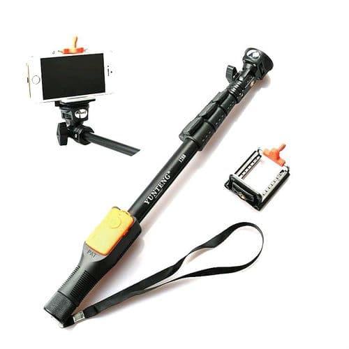 Perche Selfie Stick pour Appareil Photo Smartphone Support Télécommande