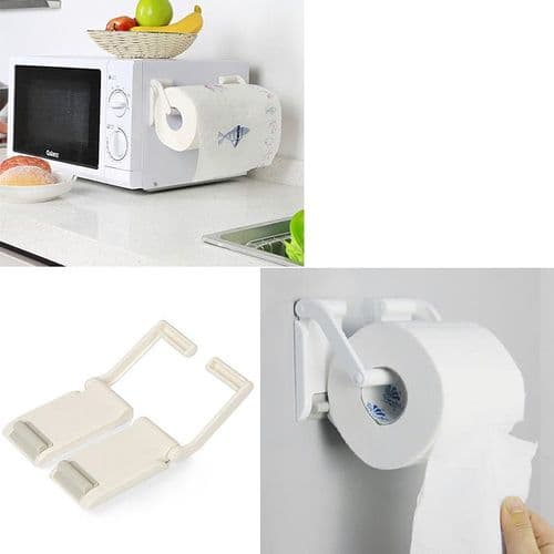Porte-Papier Toilette Sopalin Essuie-Tout Support Magnétique Largeur Réglable