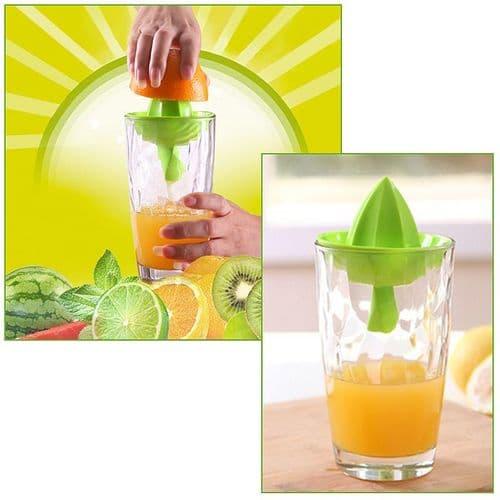Presse Jus De Fruits Orange Citron Ustensile Outil De Cuisine Direct Dans Verre