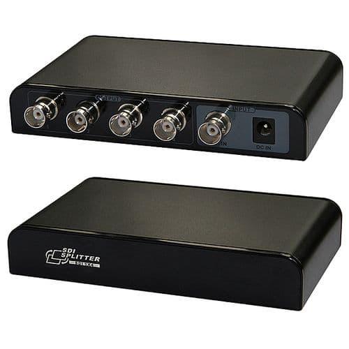 SDI Diviseur 1 entrée pour 4 sorties SDI LKV614 Adaptateur Séparateur SD HD 3G