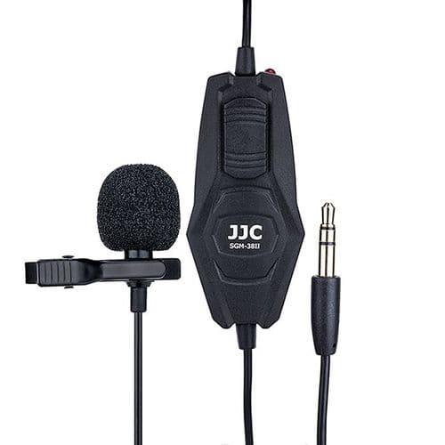 "SGM-38II Microphone Omnidirectionnel Lavalier 3.5mm Mini-jack Adaptateur ¼"""