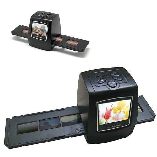 Scanner Film 35mm Diapositif Négatif HD 5M pixels 2592x1944 Connecteur  TV