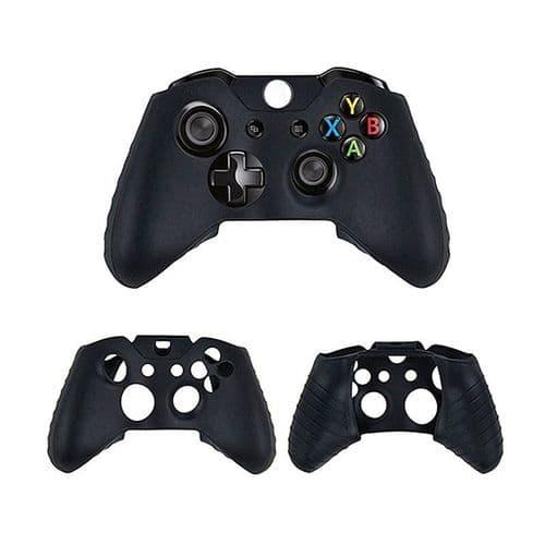 Silicone Etui Housse  Protection pour Manette Joy-stick Microsoft Xbox One BK
