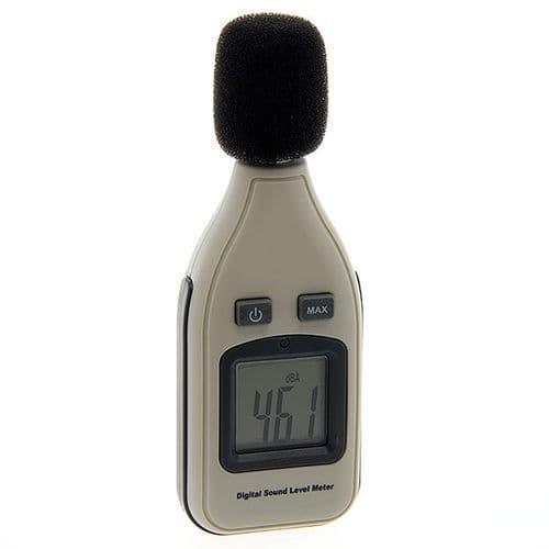 Sonomètre Mesureur Niveau de Son Compact Ecran Affichage Digital