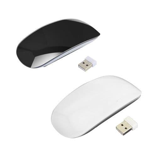 Souris Optique Ordinateur Sans Fil À Surface Tactile Sans Fil 2,4Ghz Ultra Mince