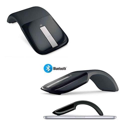 Souris Optique Sans Fil Bluetooth Touch Scroll Arc Touch Pliable 1200 Dpi