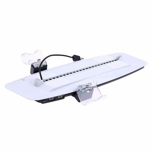 Station Dock Ventilateur Playstation 4 PS4 Console Chargeur Manette USB HUB