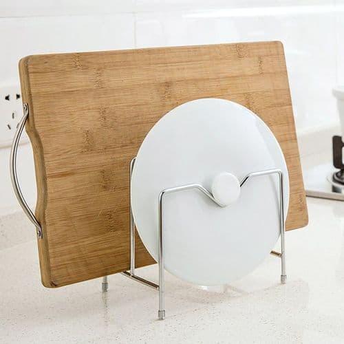 Support En Acier Inoxydable Pour Couvercle Pot Marmite Accessoires De Cuisine