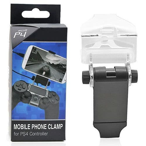 Support Grip Smartphone sur Manette Console de Jeux PS4 Câble OTG