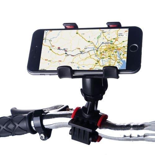 Support Universel Mobile Smartphone Sur Le Guidon De Bicyclette Vélo Moto VTT