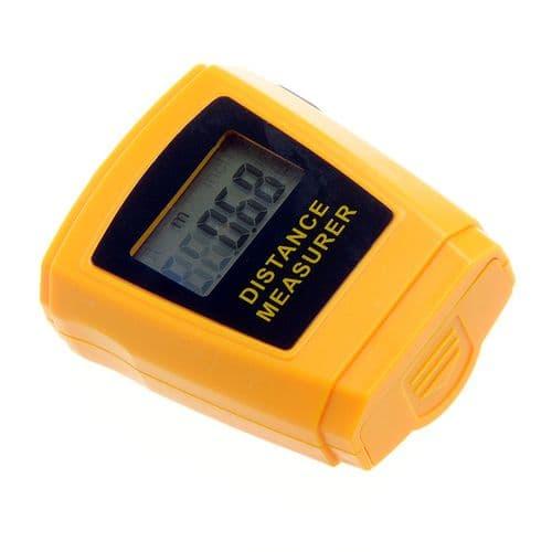 Télémètre Mètre Ultrason avec Pointeur Laser 0,50m à 18m