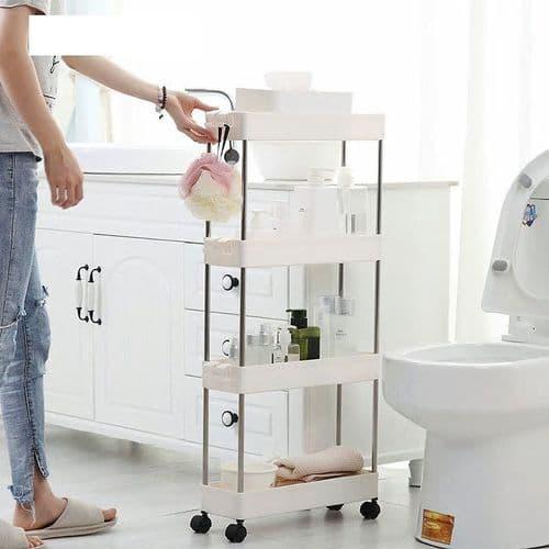 Tour Rangement Étagère Pour Accessoires Cuisine Toilette Organisateur Slim