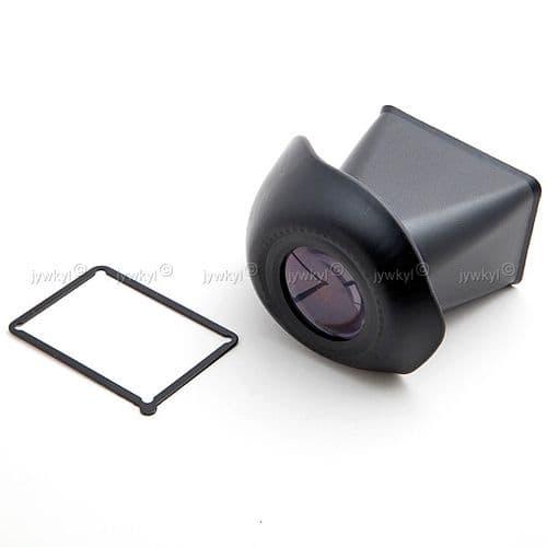 V-Finder Viewfinder Viseur Ecran LCD 3:2 Appareil Photo Canon 550D Nikon D90  2.8x Grossissem