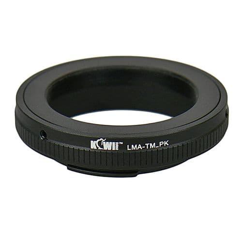 Adaptateur Bague Objectif Monture T Télescope vers Boitier Pentax K