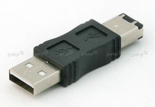 Adaptateur Connectique USB A Mâle 1394 Firewire 6 Pin