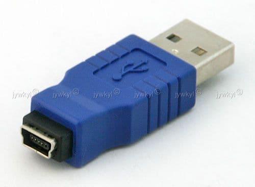 Adaptateur Connectique USB A Mâle USB 5 Pin Femelle