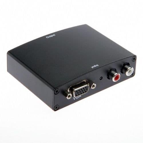 Adaptateur Convertisseur VGA Audio L/R vers HDMI Femelle