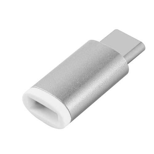 Adaptateur Usb-C 3.1 Type-C Mâle Vers Micro Usb Femelle Synchronisation Charge