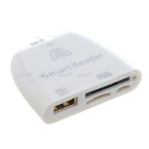 Adaptateur USB Lecteur Carte SD Micro MS M2 Tablette PC Smartphone Samsung 453