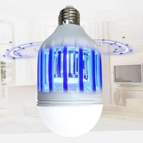Ampoule 220V 15W anti moustique LED Lampe E27 Insectes anti moustique Répulseur