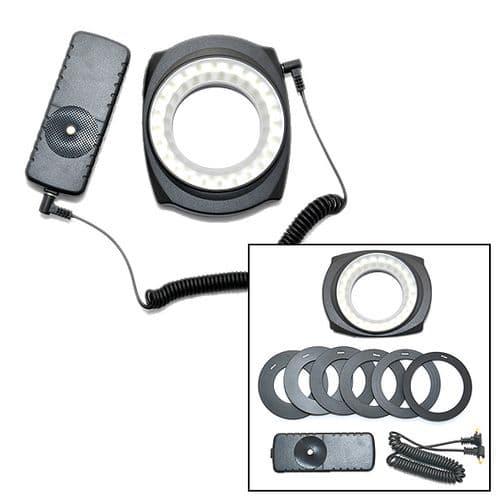 Anneau LED Halo Macro Vidéo Lampe Torche pour Appareil Objectif Photo DSLR II