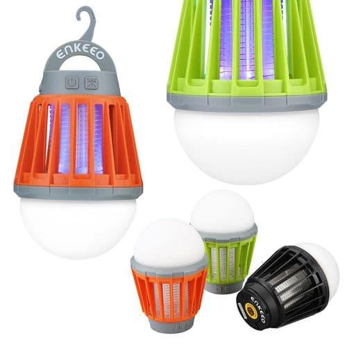 Anti-Moustique Anti-Nuisible Usb Extérieure Et Intérieure Lampe Led Étanche