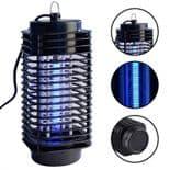 anti moustique électronique mouche Led nuit lampe insecte anti-nuisible ultrason