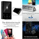 AP60 DSD Sans Perte Audio Bluetooth 4.0 Apt-X Baladeur MP3 Lecteur BK