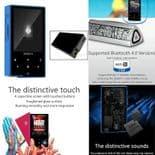 AP60 DSD Sans Perte Audio Bluetooth 4.0 Apt-X Baladeur MP3 Lecteur BU