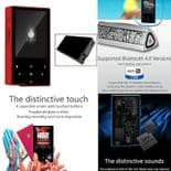 AP60 DSD Sans Perte Audio Bluetooth 4.0 Apt-X Baladeur MP3 Lecteur RD