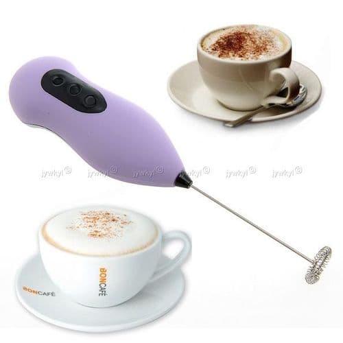 Batteur Electrique pour Café Latte Lait Cappuccino Maker Shaker Fouetteur