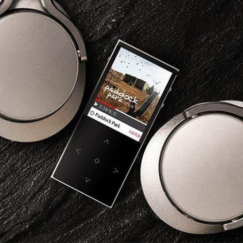 BENJIE X1 Ecran Tactile Lecteur Musique MP3 8GB Sans Perte Alliage TF FM GY