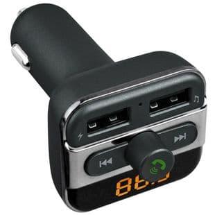 Bluetooth Mains Libres Mp3 TF Fente Double USB Port Chargeur FM Transmetteur
