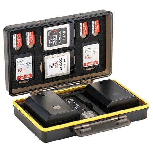 Boîte De Protection De Batterie Et Carte Mémoire Flash Housse Pour Sd Msd Xqd