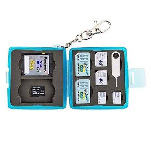 Boîtier Caisson Carte Mémoire Flash Protection Etanche SD Micro SD SIM Nano